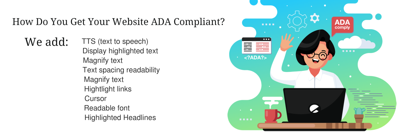 Website for ADA Compliance